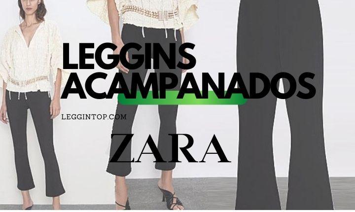 Leggins Acampanados Zara